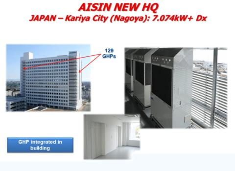 Γραφεία Aisin - Ιαπωνία